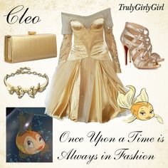 Disney Style: Cleo, created by trulygirlygirl on Polyvore