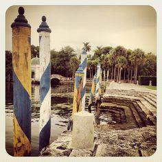 Vizcaya Museum Gardens Coconut Grove Miami Florida