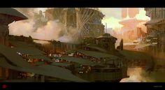 Industrial City by madspartan013 on deviantART