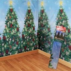 Christmas Tree Scene Setter Room Rolls: Available Color: Multi Color. Carton Weight: 21 lbs. Packaging: 16. Material: Plastic. #TreeSceneSetterRoomRolls #promotionalproduct #customproduct #christmasgiveaways