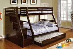 cool Bunk bed queen