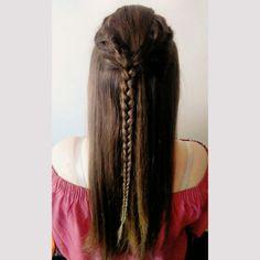 Braid - my hairstyle. #braid #hairstyle #elvish