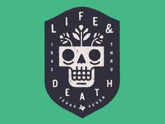 Life and Death Logo by Ryan Feerer | Fivestar Branding – Design and Branding Agency & Inspiration Gallery