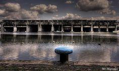 U-boot bunker in Bordeaux, France; from WWII.