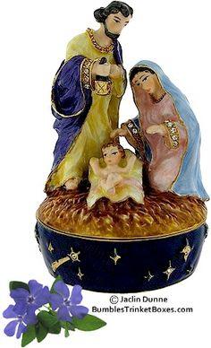 Trinket Box: Nativity