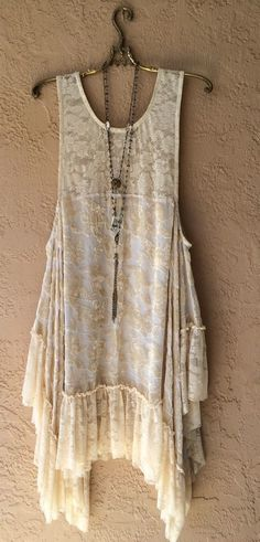 Image of Anthropologie Velvet devare cutwork Gypsy holiday hi low dress