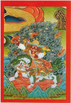 Dorje Legpa Card