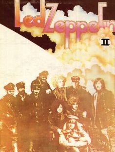 album cover Led Zeppelin classic rock robert plant Jimmy page My Scans scanned 1969 John Bonham john paul jones led zeppelin II Led Zeppelin Album Covers, Led Zeppelin Albums, Led Zeppelin Ii, Rock Album Covers, Classic Album Covers, Rock And Roll Bands, Rock N Roll Music, Halloween Costumes To Make, Easy Halloween