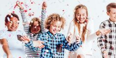 Find Happy Kids Throwing Colorful Confetti Room stock images in HD and millions of other royalty-free stock photos, illustrations and vectors in the Shutterstock collection. Happy Mom, Happy Kids, Oprah Winfrey, Amazing Handwriting, Confetti Photos, Creative Photography, Little Gifts, Games For Kids, Challenges