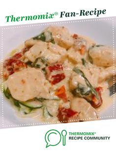 Recipe Creamy Tuscan Chicken (keto friendly) by Meagsyr, learn to make this recipe easily in your kitchen machine and discover other Thermomix recipes in Main dishes - meat.