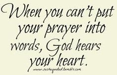 god always listens to our prayers