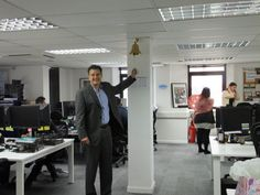 Ringing the victory bell! #ImpactTeachers #placements #teachers #schools #office #work #recruitment #education #fun #Director #bell #ClaphamJunction