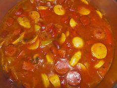 Currywurstsuppe (Rezept mit Bild) von Princess75 | Chefkoch.de