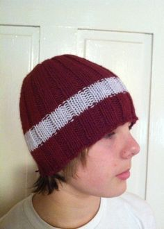 Ribbed Beanie by TheChikenCoop on Etsy, $25.00