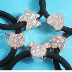 Elastic Hair Bands Rubber Bands Crystal Simulated Pearl Flower Star Bow Hair  Accessories for Kids Girls Women Headwear a1a3928e8e0a