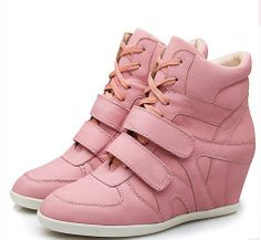 new autumn winter PU brand rubber sole women's shoes sports casual   pink fashion shoes,women pumps 8 $83.70