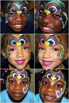 Face paint uil