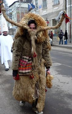Draco, to frighten evil spirits. Romania~