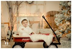 Vintage White Christmas photography idea from Happy Thoughts Studio