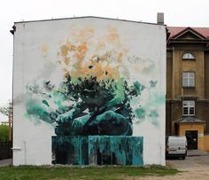Robert Proch - New Mural In Warsaw, Poland