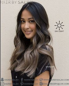 48 Fantastic Brunette Balayage Hair Color Ideas Summer's on the way! And our thoughts turn to brighter, lighter, more glamorous and gleaming hairdos that not only look […] Brown Hair Shades, Brown Blonde Hair, Brown Hair With Highlights, Light Brown Hair, Brown Hair Colors, Sandy Blonde, Ashy Hair, Partial Highlights, Color Highlights