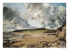Weymouth Bay: Bowleaze Cove and Jordon Hill Giclee Print by John Constable at Art.com