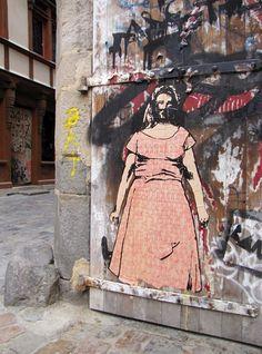 Rue de la Psalette, Rennes, France (2012) #streetart