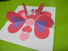 petite carte papillon