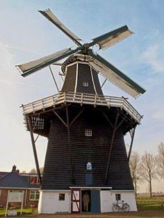 Flour #mill De Kievit, Grijpskerk, the #Netherlands http://dennisharper.lnf.com/