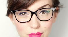 Yes! Makeup For Gals With Glasses via @Glitter Guide!