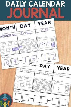 Daily Calendar Journal, Calendar Time, Dating Practice