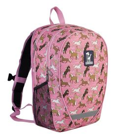 Another great find on #zulily! Pink Horses Comfortpak Backpack by Wildkin #zulilyfinds