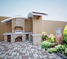 Дизайн барбекю фото Patio, Outdoor Decor, Home Decor, Homemade Home Decor, Yard, Terrace, Decoration Home, Interior Decorating