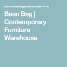 Bean Bag | Contemporary Furniture Warehouse