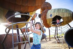 Pod Playground at the National Arboretum, Canberra