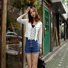 $9.60 (Buy here: https://alitems.com/g/1e8d114494ebda23ff8b16525dc3e8/?i=5&ulp=https%3A%2F%2Fwww.aliexpress.com%2Fitem%2FSpring-and-Summer-Retro-Womens-Girl-Denim-High-Waist-Lady-Shorts-Jeans-Pants-Vintage-Cuffed-female%2F32783212428.html ) Spring and Summer Retro Womens Girl Denim High Waist Lady Shorts Jeans Pants Vintage Cuffed female thin short jeans women for just $9.60