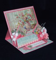 One Summer's Day - Card 8 - Joanna Sheen Project First Day Of Summer, Summer Days, Holly Hobbie, Easel Cards, Hobbies And Crafts, Artist At Work, Paper Art, Decorative Boxes, Handmade Cards