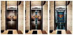 Superman The Movie Elevator