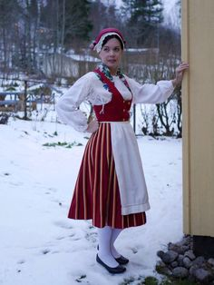 Folk Costume, Costumes, Traditional Outfits, Finland, Harajuku, Ding Dong, Folklore, Beauty, Collection