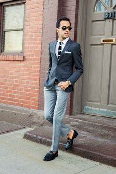 shades of gray suiting