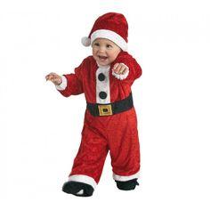 Disfraz de Papa Noel para niños de 1 a 3-años. Christmas Costumes, Halloween Costumes, Baby Christmas Photos, Spanish Songs, Boy Costumes, Costume Ideas, Holiday Wear, Vintage Pictures, Elf On The Shelf