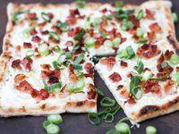 RECEPTEK Vegetable Pizza, Bacon, Bread, Vegetables, Food, Crickets, Food Food, Brot, Essen