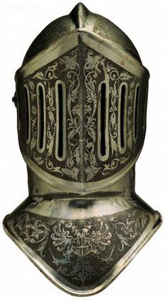 Ancient helmet of armor