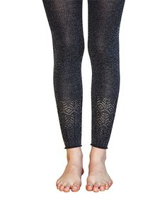 This Peppercorn Sabrina Cuff Wool-Blend Footless Tights is perfect! #zulilyfinds