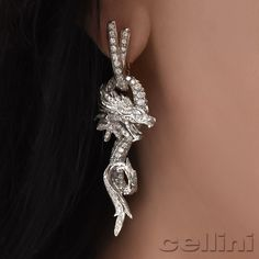 MotherOfDragon #GameOfThrones #DiamondDragon by Carreraycarrera available @cellini_jewelers