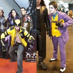 If anyone attending #MCMBirmingham #ComicCon took pictures of my #jokercosplay (Saturday) or #wolverinecosplay (Sunday) could you tag me? #MCMBHM16  #Joker #thejoker #thewolverine #wolverine #jokercosplayer #wolverinecosplayer #cosplay #cosplayer #cosplaying #marvel #DCComics