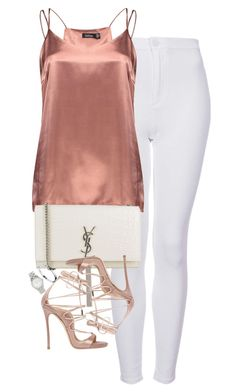 """""""Untitled #1199"""" by lovetaytay ❤ liked on Polyvore featuring Topshop, Boohoo, Yves Saint Laurent, Dsquared2, Cartier and Marc Jacobs"""