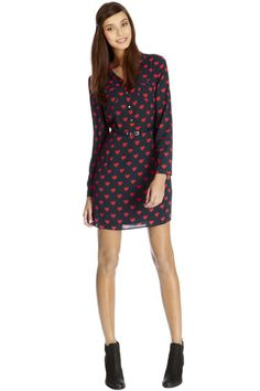 Love this heart shirtdress