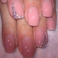 Another way to make your nails stand out using nail art is with a rainbow variation as opposed to the traditional white used for a French manicure. This will make your beautiful nails stand out and get noticed. Fancy Nails, Love Nails, How To Do Nails, Pretty Nails, Gorgeous Nails, Glam Nails, Amazing Nails, Fabulous Nails, Perfect Nails
