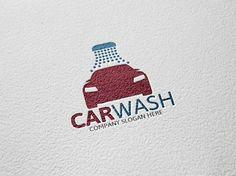 Car Wash Logo by Josuf Media on Creative Market